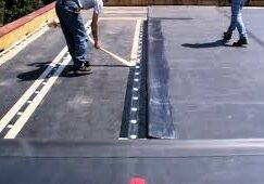 Commercial JM Rubber Roofing System